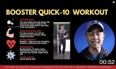 Booster Quick-10 Workout B Thumbnail