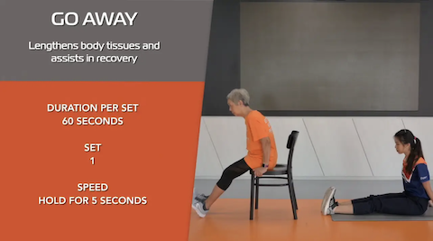 Simple Stretching for Seniors Ep 11 - Go Away Thumbnail