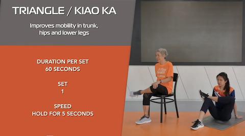 Simple Stretching for Seniors Ep 12 - Kiao Ka Thumbnail