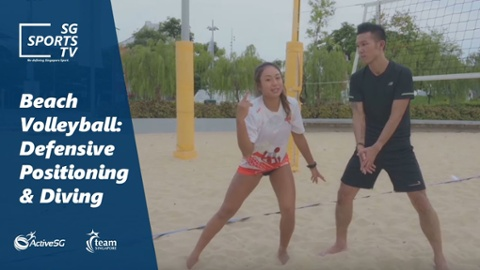 Beach Volleyball 101: Beach Volleyball Defensive Positioning Thumbnail