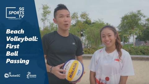 Beach Volleyball 101: First ball defensive touch Thumbnail