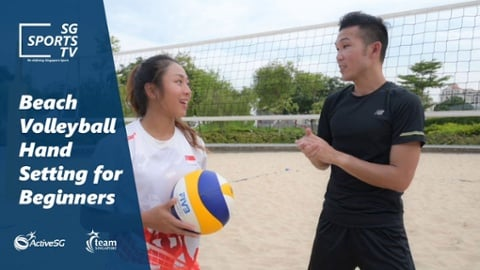 Beach Volleyball 101: Hand Setting in Beach Volleyball Thumbnail