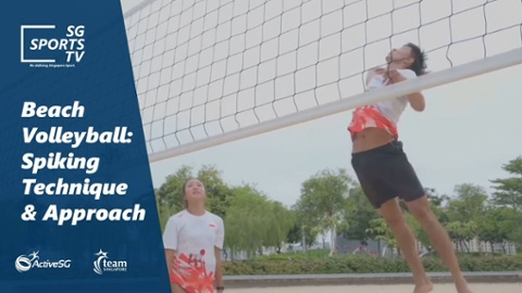 Beach Volleyball 101: Spiking in Beach Volleyball Thumbnail