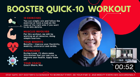Booster Quick-10 Workout C Thumbnail