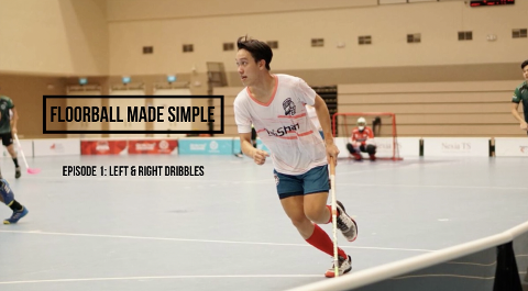 Floorball made simple Ep 1: Left Right Dribbles Thumbnail