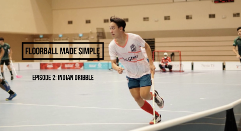 Floorball made simple Ep 2: Indian Dribbles Thumbnail