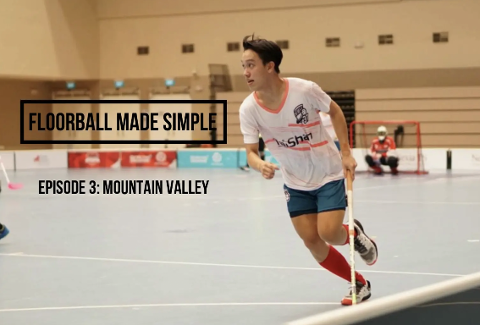Floorball made simple Ep 3: Mountain Valley Dribbles Thumbnail