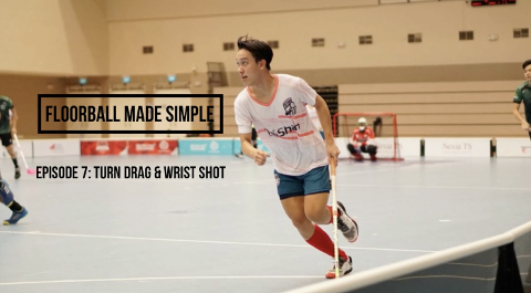 Floorball made simple Ep 7: Turn Drag and Wrist Shot Thumbnail