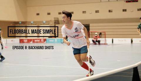 Floorball made simple Ep 8: Backhand Shot Thumbnail