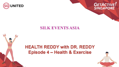 Health Reddy with Dr Reddy Ep 4 (Health & Exercise) Thumbnail