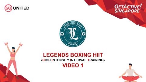 Legends Fight Sport Boxing HIIT Episode 1 Thumbnail