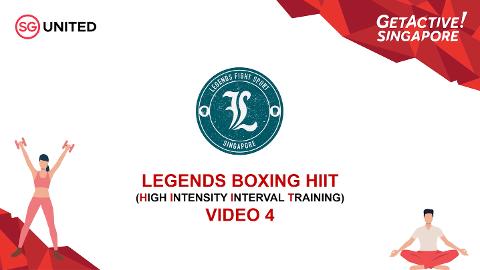 Legends Fight Sport Boxing HIIT Episode 4 Thumbnail