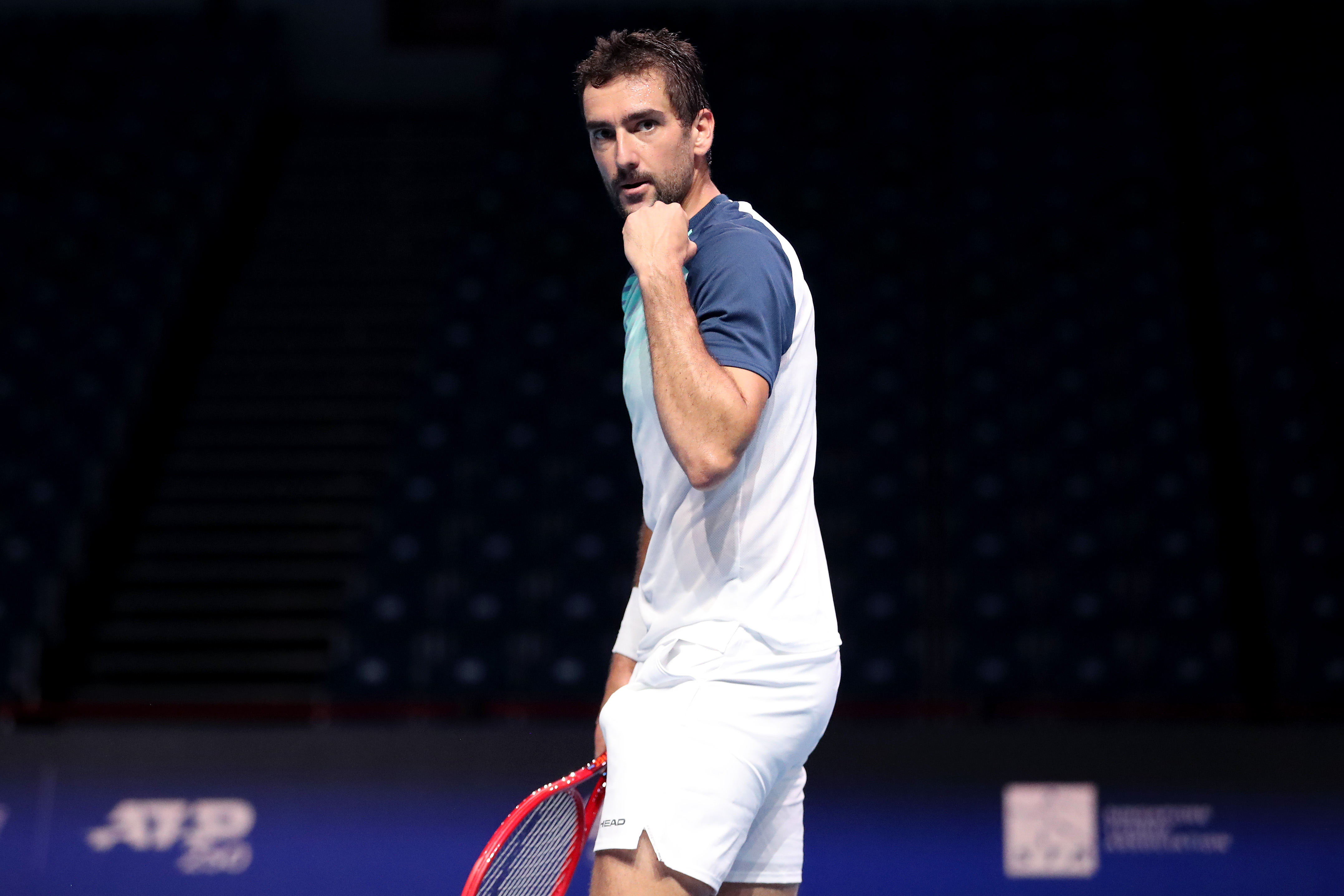 STO 3rd seed Marin Cilic bags his first win of 2021!