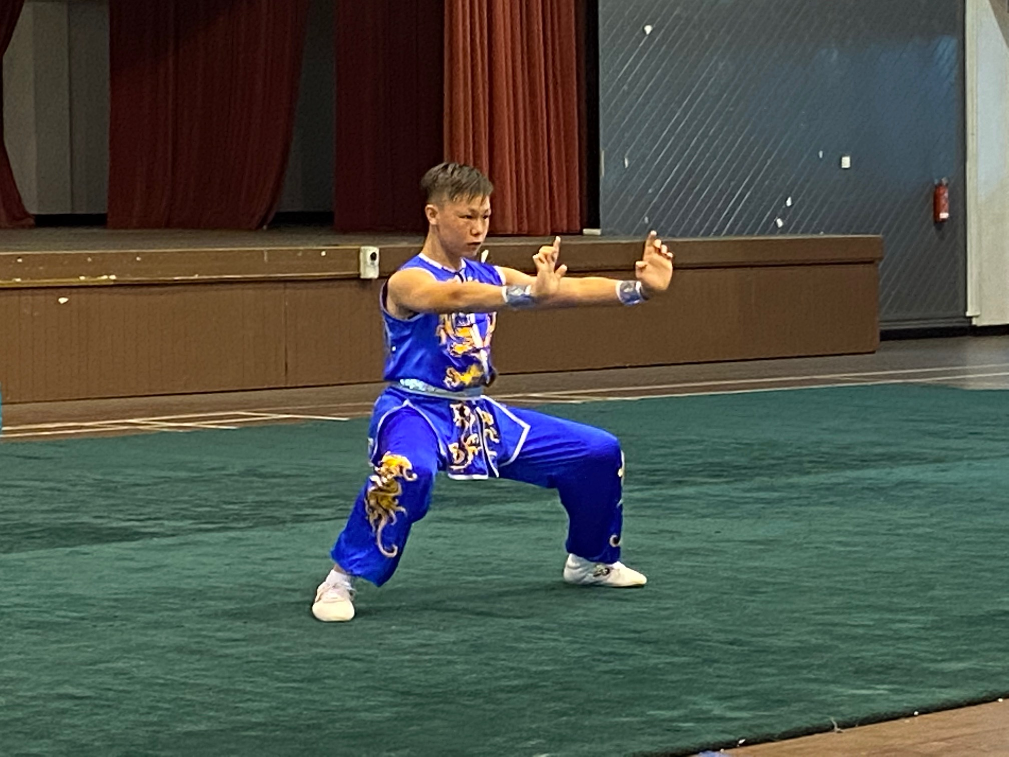 NSG B Div Wushu: Kicks, flips and punches galore as wushu athletes dazzle with their pugilistic prowess