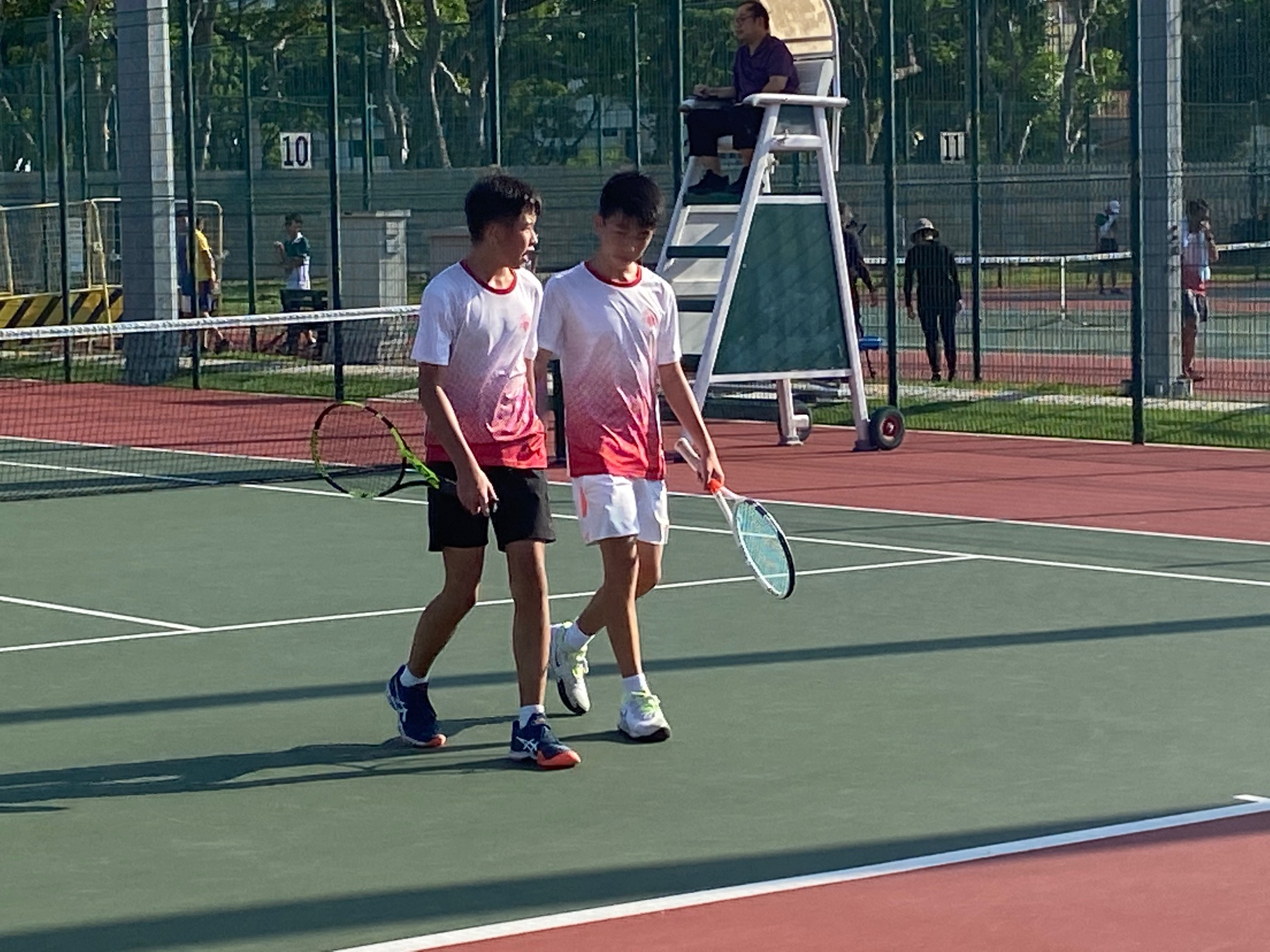 NSG B Division Boys' Tennis: Victoria stuns SJI 3-2 to reach first final in over a decade
