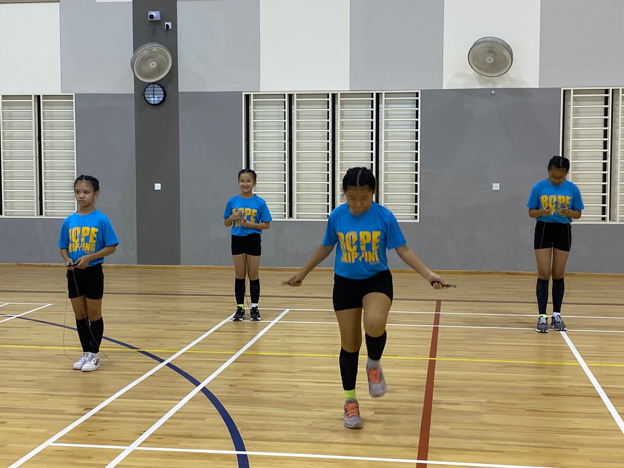 NSG Rope Skipping : Youngsters deliver creative & exciting skills after months of hardwork and training!