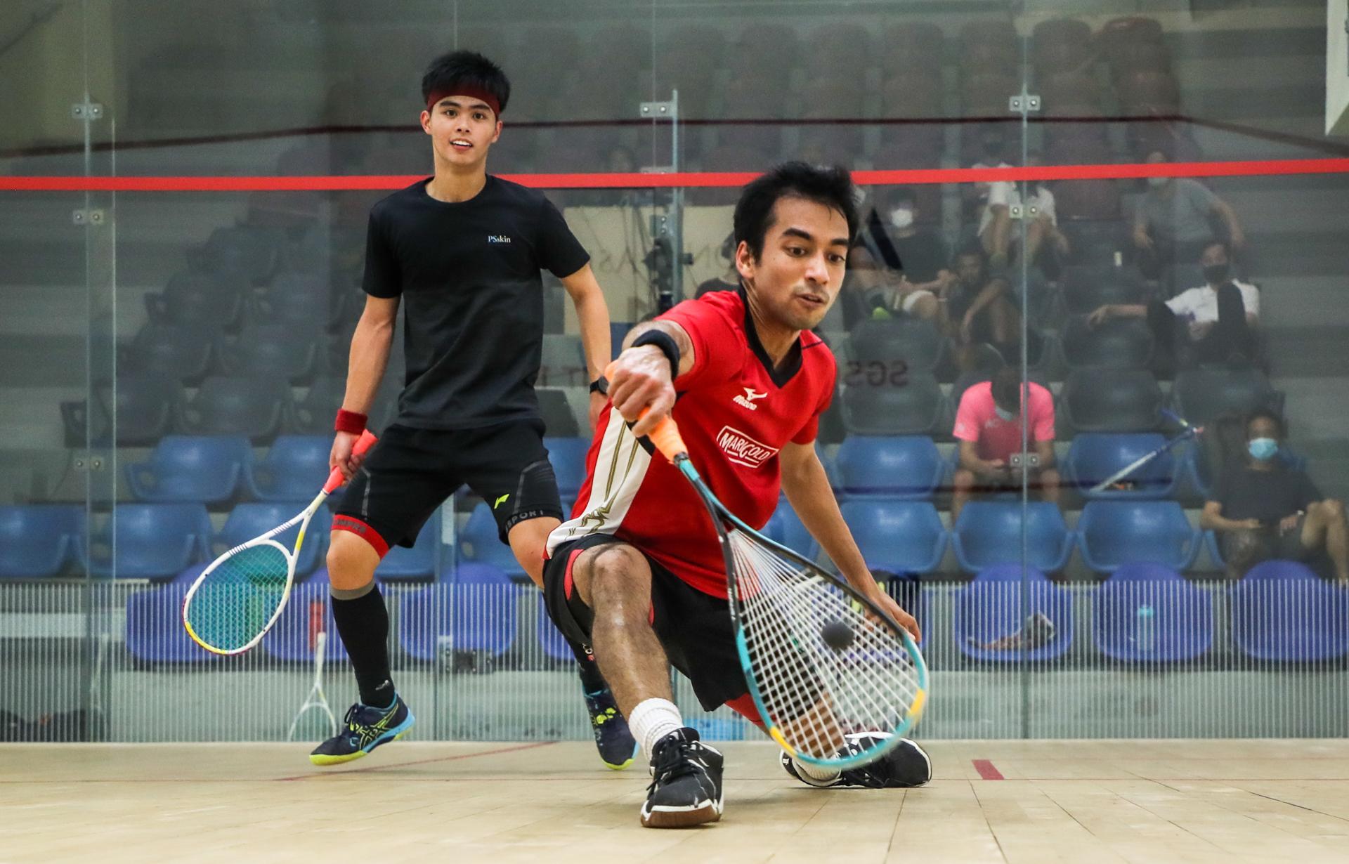 Samuel Kang winsDYMON Asia SGSquash circuit #1 main event, to kick off the annual squash season