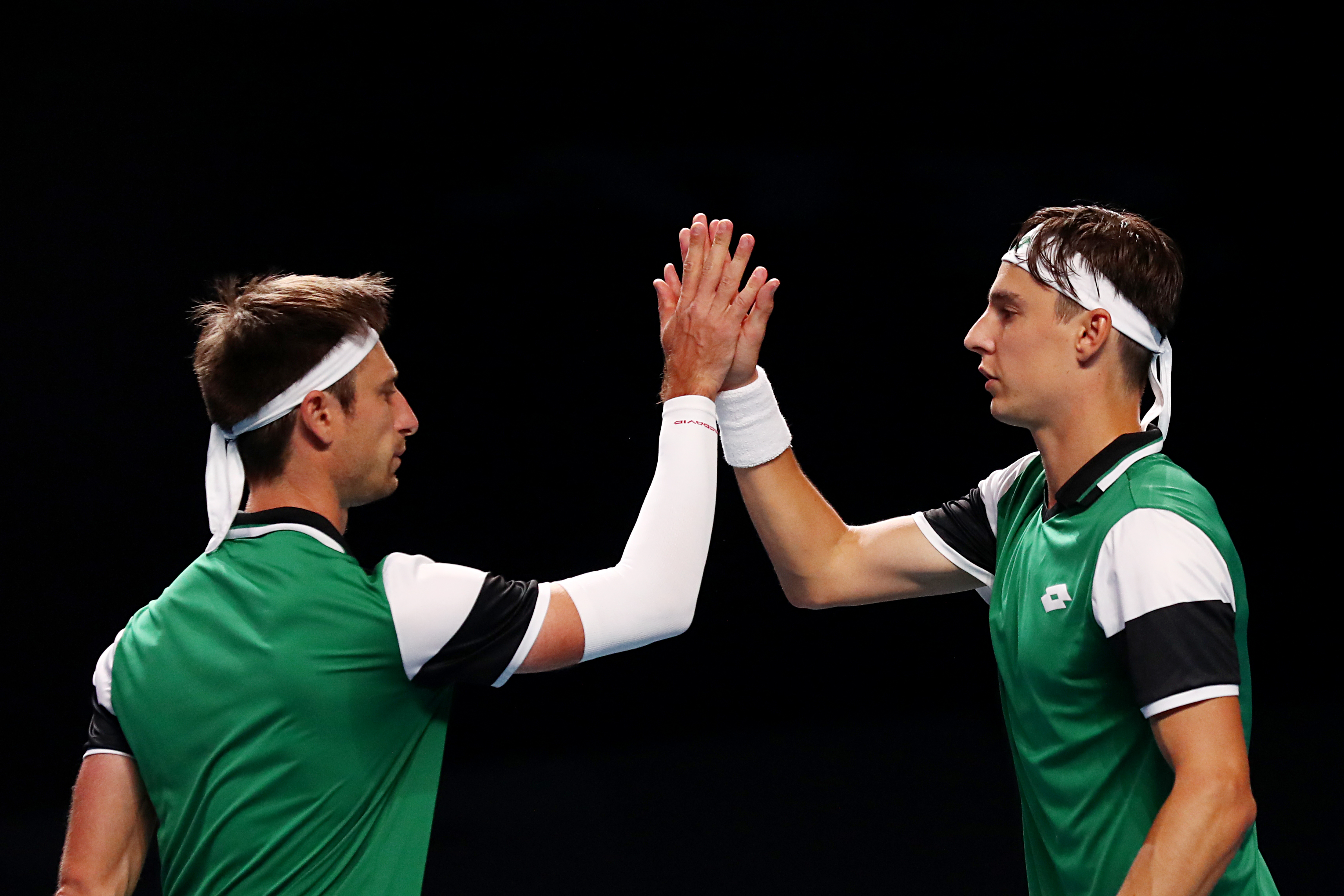 STO Dbls Top seeds Gillé & Vliegen deliver sterling performance to reach QF!