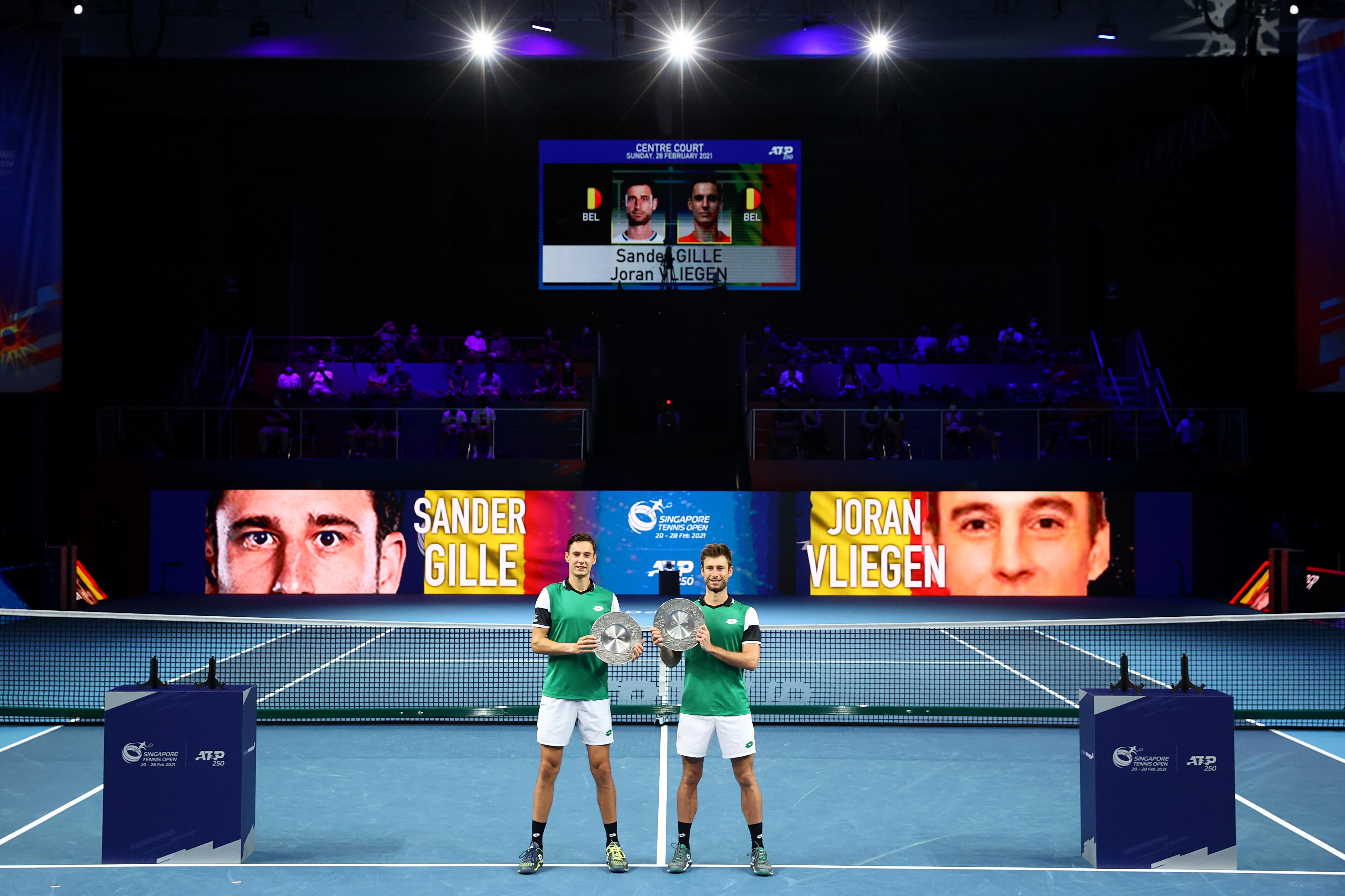 Sander Gillé & Joran Vliegen win STO Doubles Final in convincing fashion, for their 5th ATP Tour title!