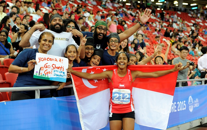 Tokyo 2020 : Profile of Singapore's Fastest Woman - Shanti Pereira, ahead of her Olympic debut