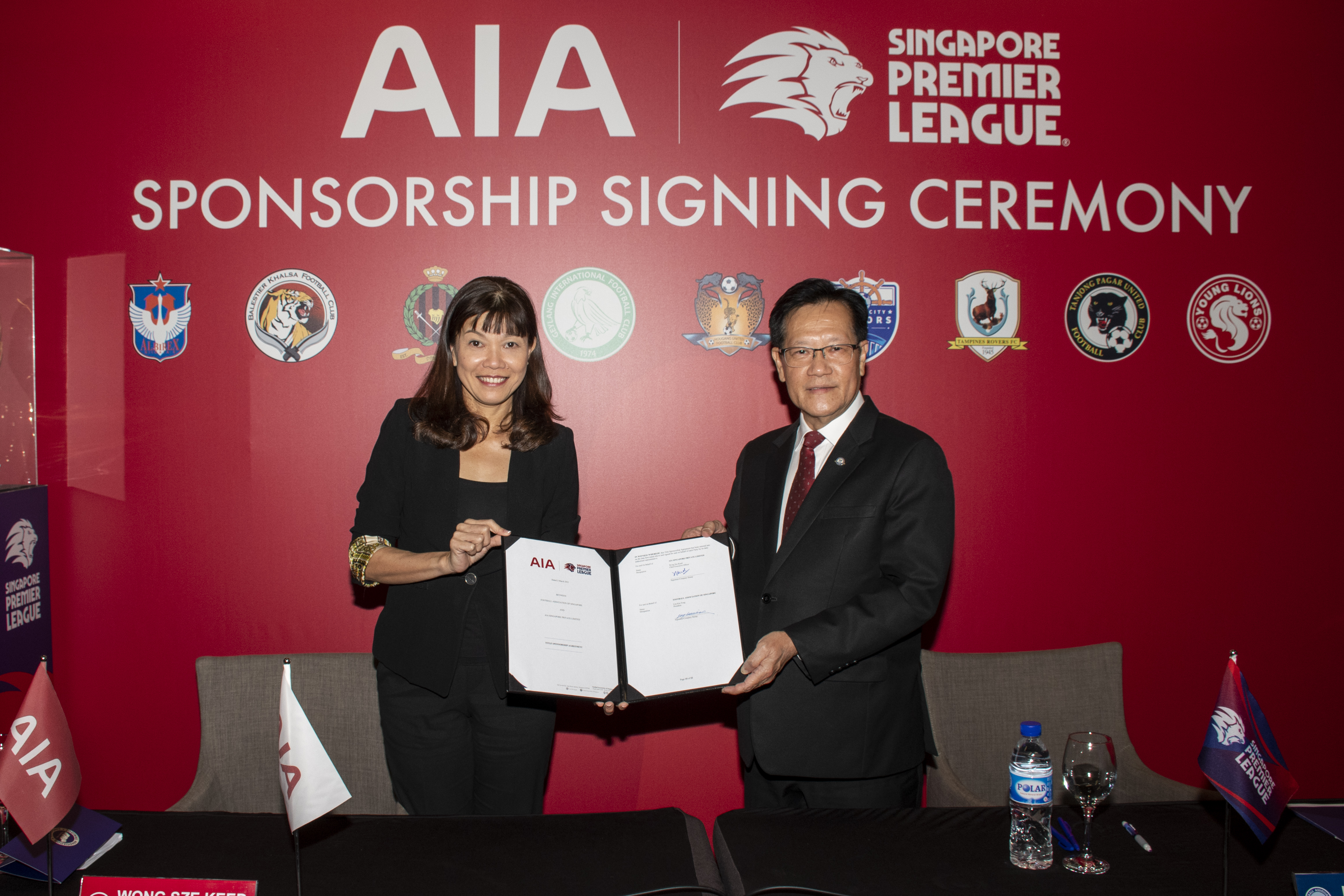 AIA Singapore extends title sponsorship of Singapore Premier League