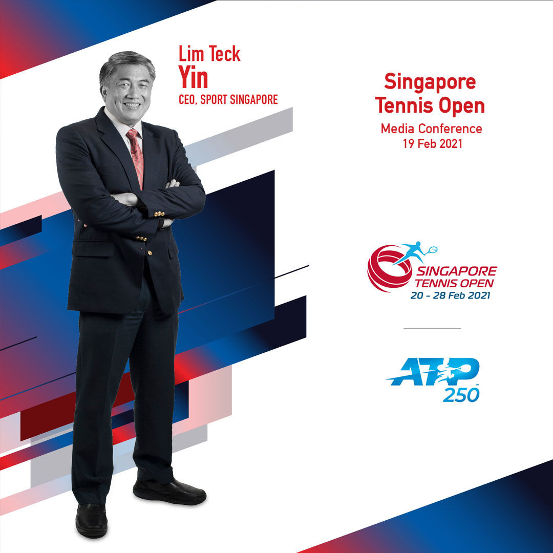 Singapore Tennis Open 2021 Virtual Media Conference