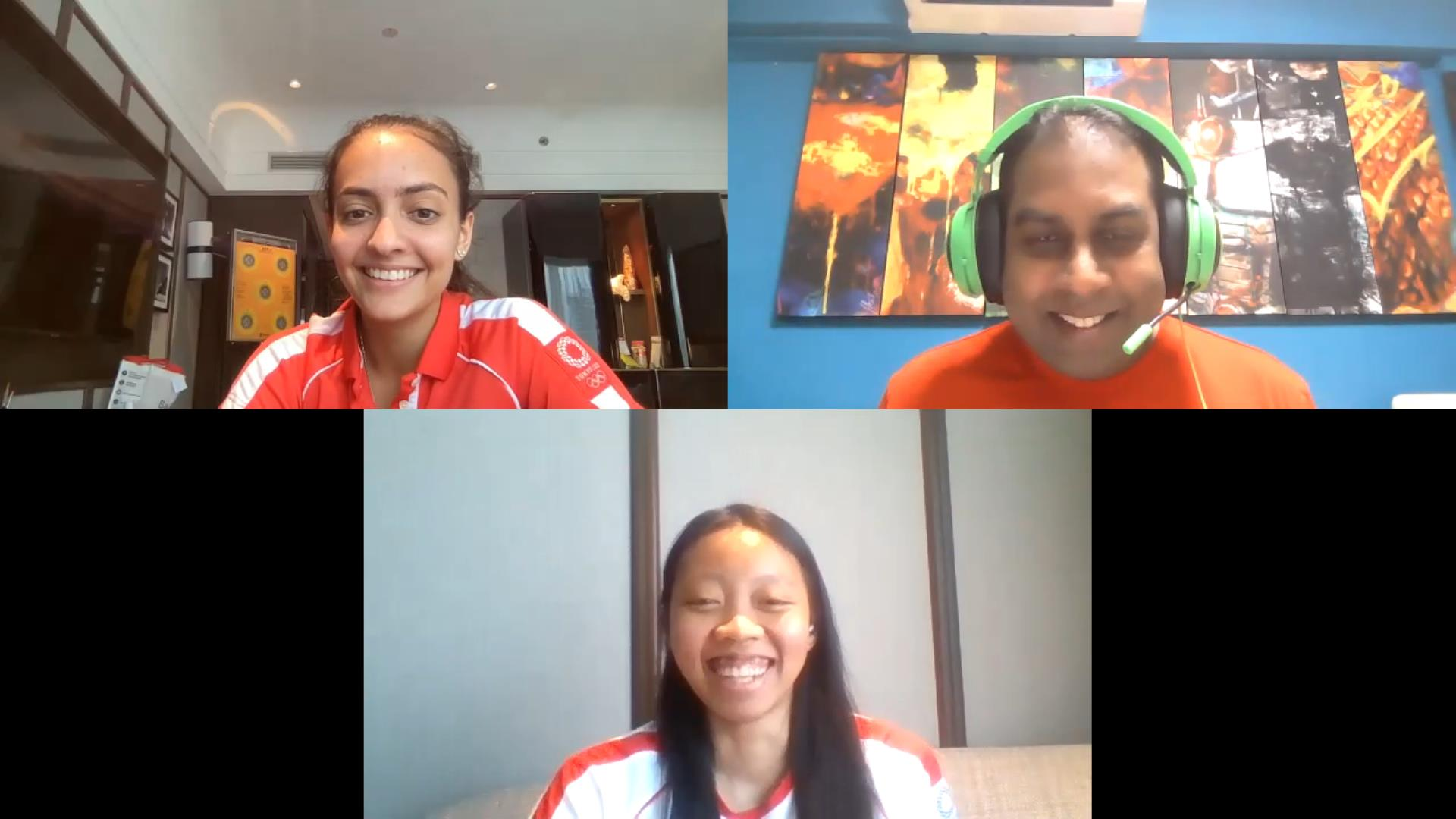 Tokyo 2020 - TeamSG's new Olympians Amita Berthier and Kiria Tikanah, are confident of stronger performances against world's best in the future!
