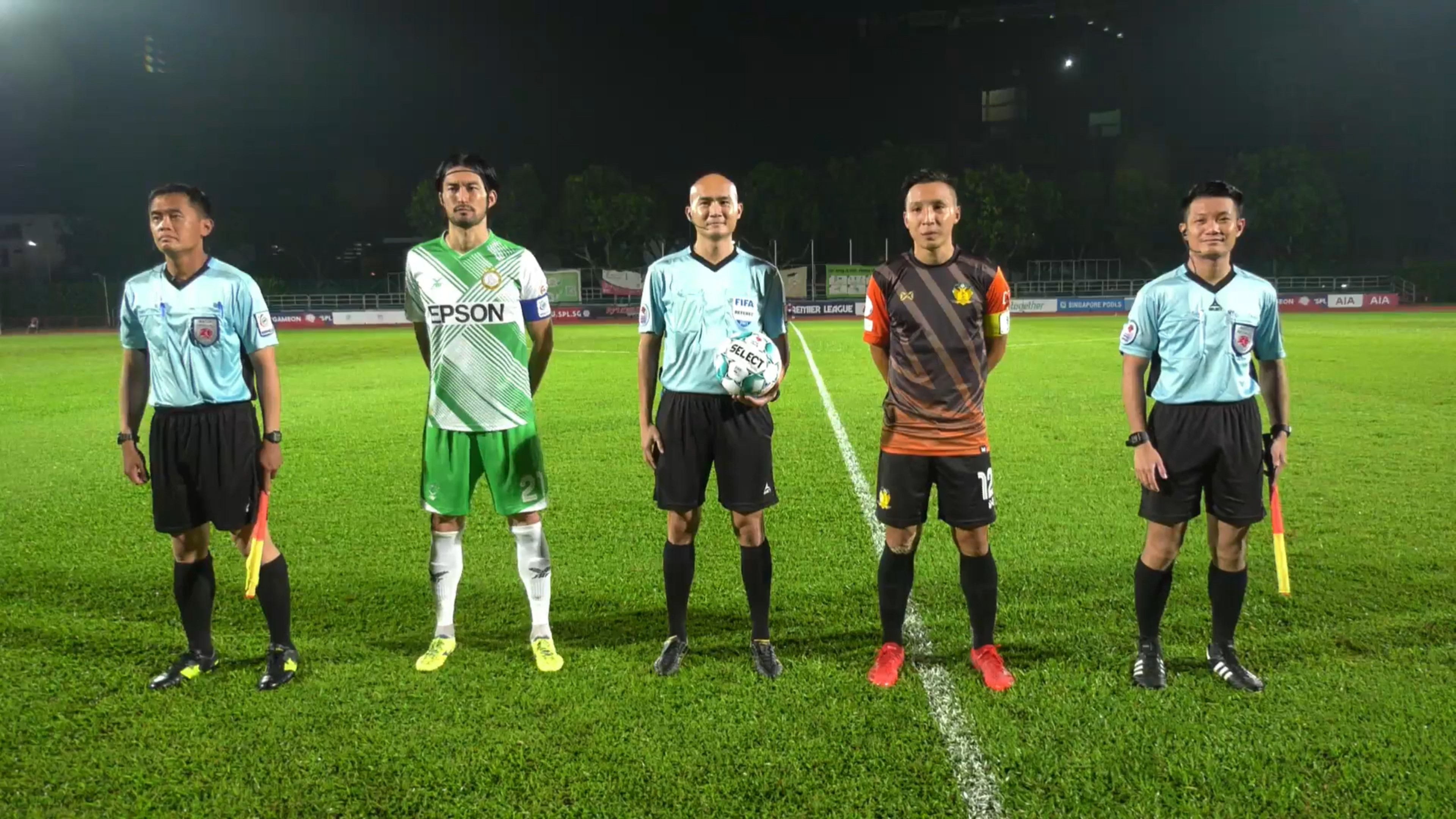 SPL :Hougang United maintain 3rd spot with confidence-boosting 2-1 win over Geylang International FC!