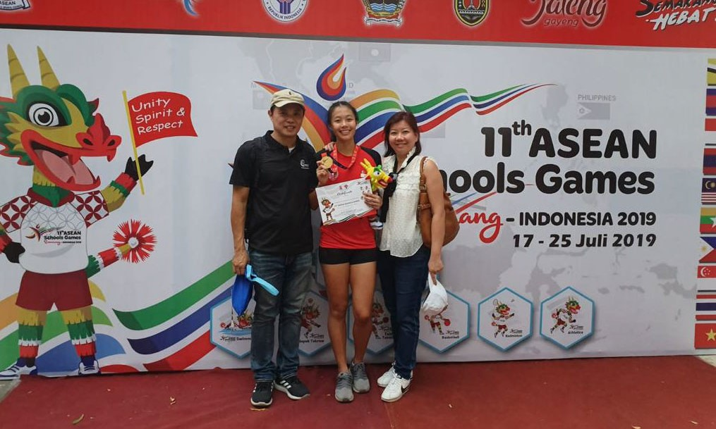NSG 13-time Gold medallist Elizabeth-Ann Tan :NSG has certainly helped to cultivate the values of hard work, perseverance and self-discipline in me