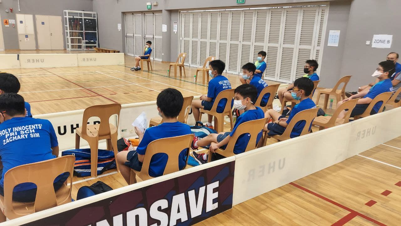 NSG Badminton : Holy Innocents' Primary School edge out Fairfield Methodist Primary to finish 3rd!