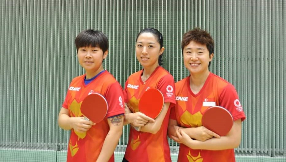 Tokyo 2020 : Team SG books a date with China (No 1) in Table Tennis Team Quarter-finals, after 3-0 sweep of France!