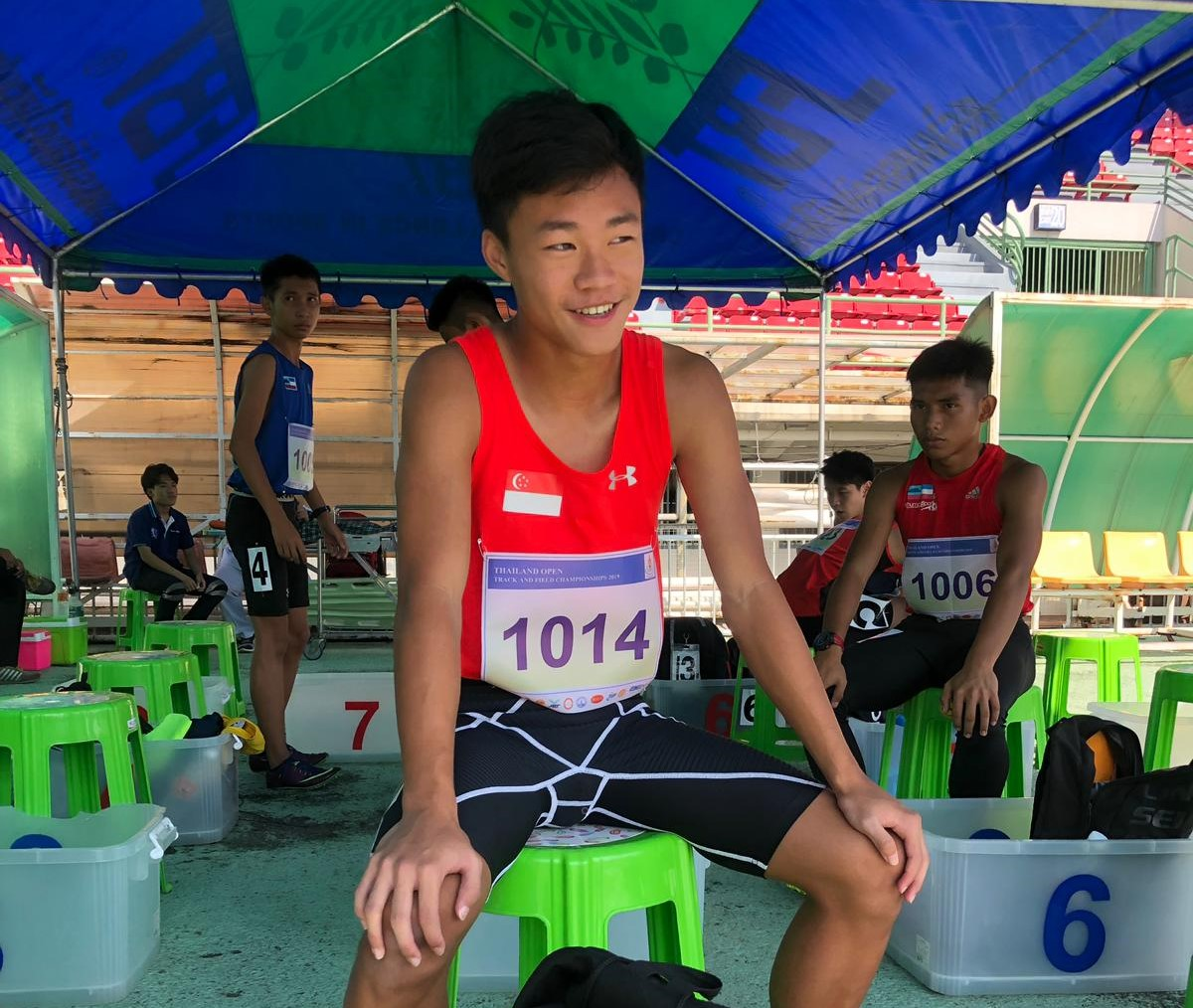 NSG : From High jumper in Primary to Sprinter in Sec school!